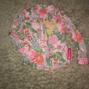 Lilly Pulitzer Button Up Blouse